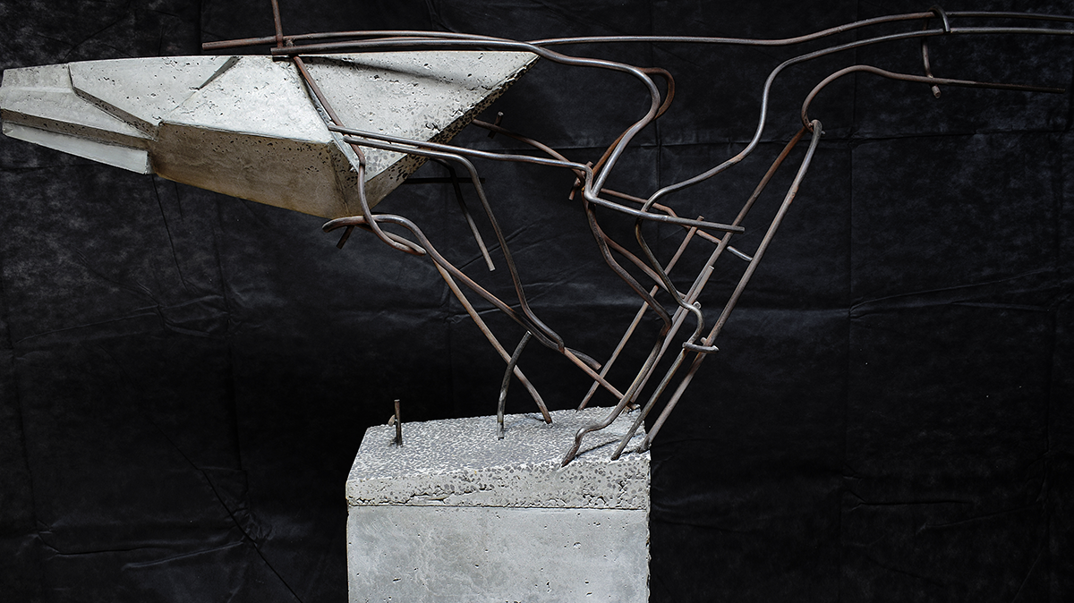 Night Flight | Sculpture